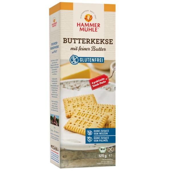 *Bio Bio Butterkekse - mit feiner Butter gf (125g) Hammermühle