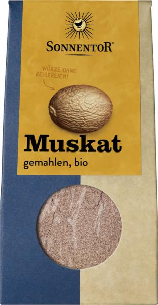 *Bio Muskatnuss gemahlen, Packung (30g) Sonnentor