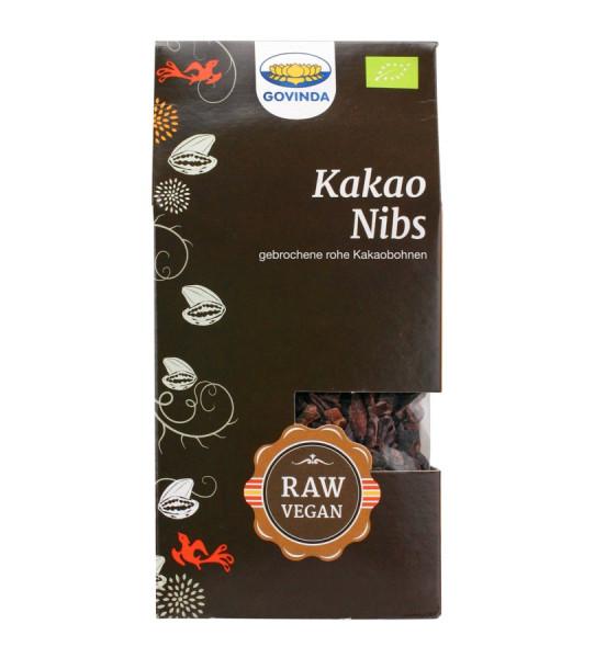 *Bio Kakao-Nibs Knabberspaß (100g) Govinda