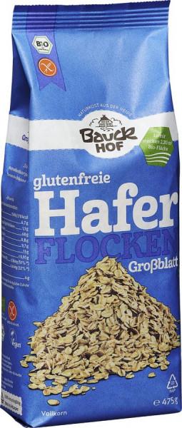 *Bio Haferflocken Großblatt glutenfrei Bio (475g) Bauckhof
