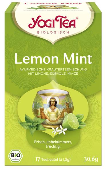 *Bio Yogi Tea® Lemon Mint Bio (17x1,8g) Yogi Tea®, Yogi Tea GmbH