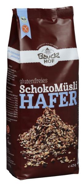 *Bio Hafer Müsli Schoko glutenfrei Bio (425g) Bauckhof