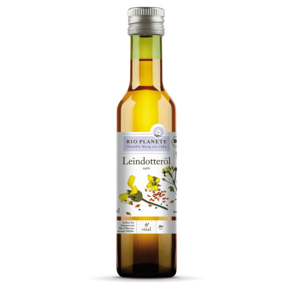 *Bio Leindotteröl nativ (0,25l) BIO PLANÈTE