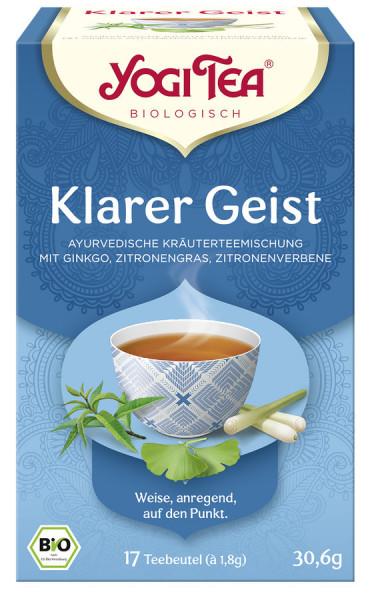 *Bio Yogi Tea® Klarer Geist Bio (17x1,8g) Yogi Tea® , Yogi Tea GmbH