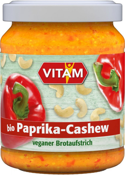 *Bio Paprika-Cashew (125g) VITAM