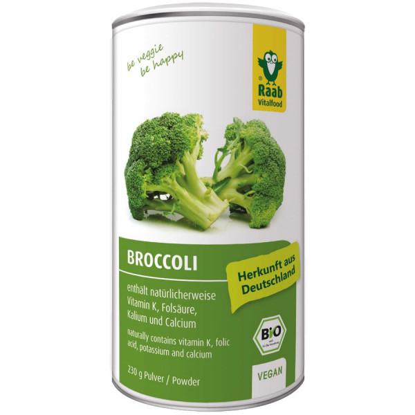 *Bio BIO Broccoli Pulver (230g) Raab Vitalfood