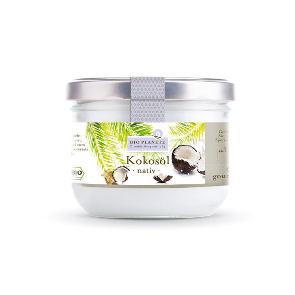 *Bio Kokosöl nativ (0,4l) BIO PLANÈTE