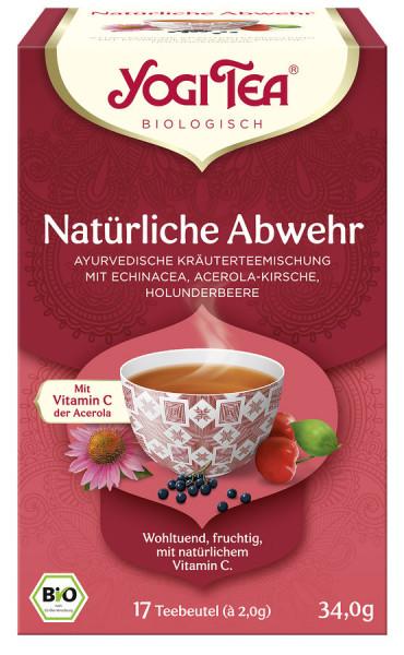 *Bio Yogi Tea® Natürliche Abwehr Bio (17x2,0g) Yogi Tea®, Yogi Tea GmbH