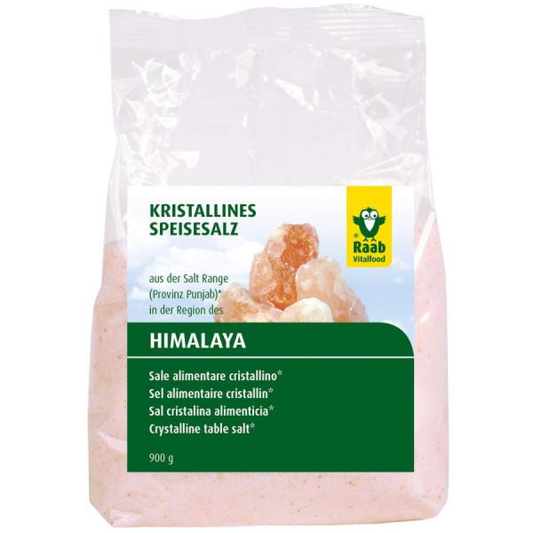 Salz gemahlen aus der Region des Himalaya (900g) Raab Vitalfood