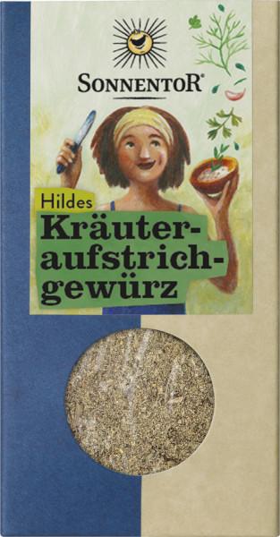 *Bio Hildes Kräuteraufstrich Gewürz, Packung (50g) Sonnentor