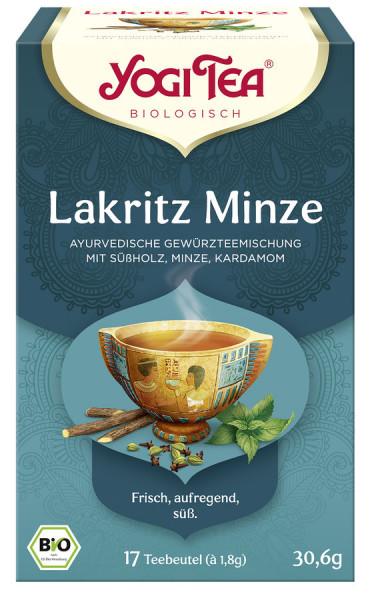 *Bio Yogi Tea® Lakritz Minze Bio (17x1,8g) Yogi Tea® , Yogi Tea GmbH