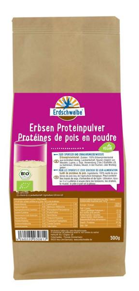 *Bio Erbsenproteinpulver (500g) Erdschwalbe