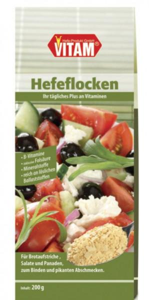 Hefeflocken salzfrei - natriumarm (200g) VITAM
