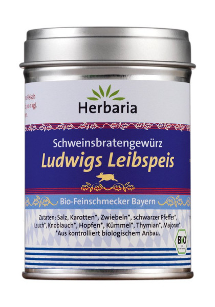 *Bio Ludwigs Leibspeis bio -Bioland M-Dose (95g) HERBARIA