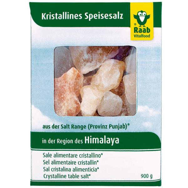 Salzbrocken aus der Region des Himalaya (900g) Raab Vitalfood