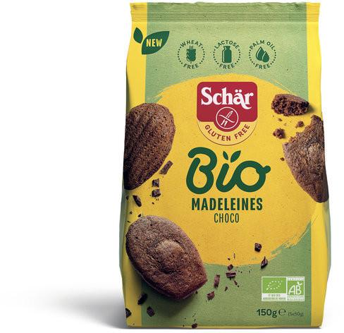 *Bio Bio Madeleines Choco (150g) Schär