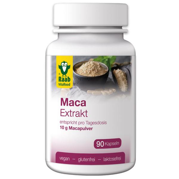 Maca Extrakt Kapseln (45g) Raab Vitalfood
