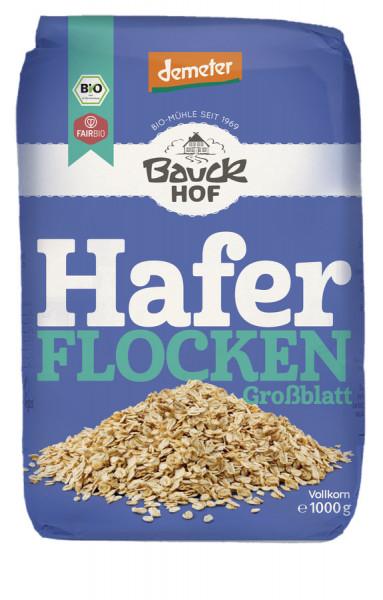 *Bio Haferflocken Großblatt Demeter (1000g) Bauckhof