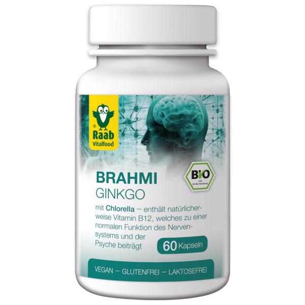 *Bio BIO Ginkgo-Brahmi, 60 Kapseln à 550 mg (33g) Raab Vitalfood