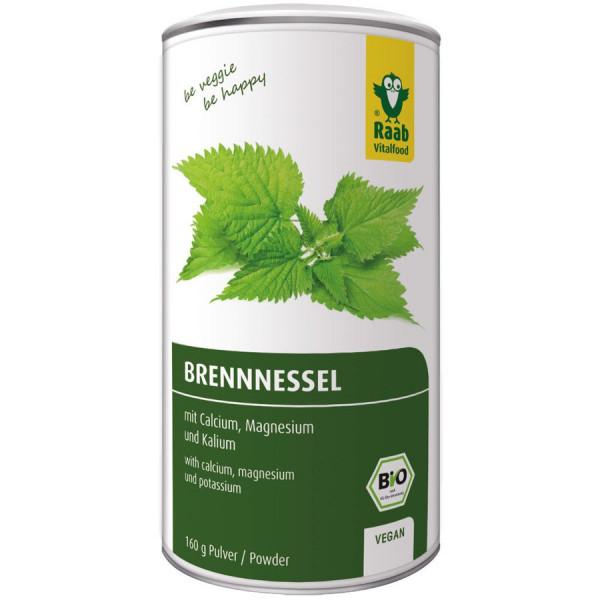 *Bio Bio Brennnessel Pulver (160g) Raab Vitalfood