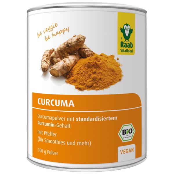 *Bio Bio Curcuma Pulver (100g) Raab Vitalfood