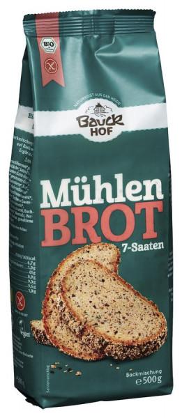 *Bio Mühlenbrot glutenfrei Bio (500g) Bauckhof