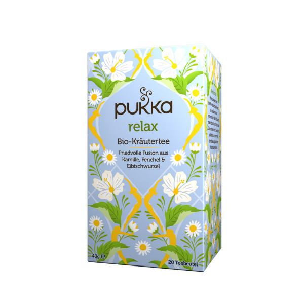 *Bio Relax (20x2g) Pukka