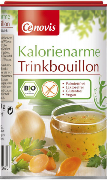 *Bio Kalorienarme Trinkbouillon, bio (270g) Cenovis