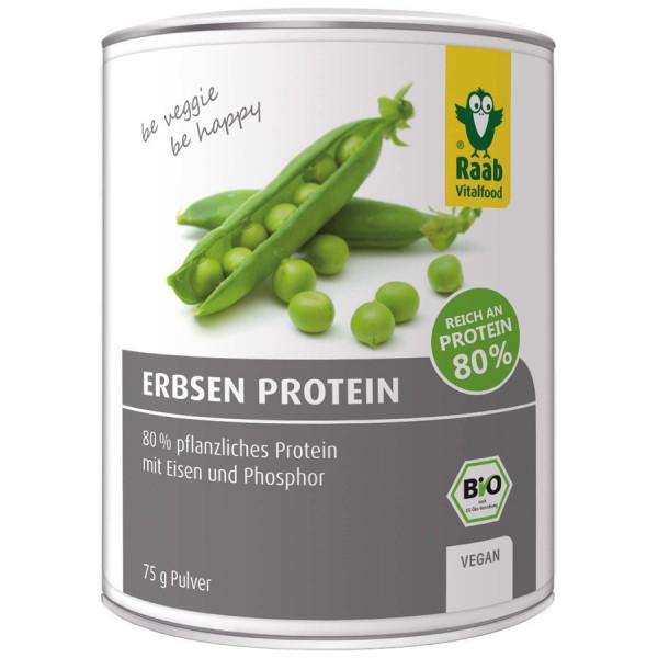 *Bio Bio Erbsen Protein Pulver (75g) Raab Vitalfood