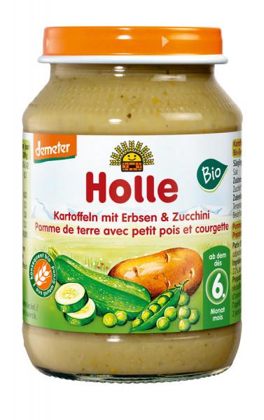 *Bio Kartoffeln mit Erbsen & Zucchini (190g) Holle