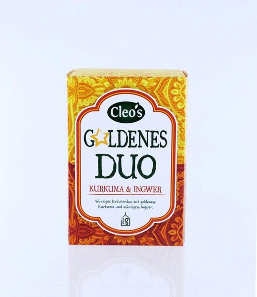 *Bio Goldenes Duo (18 x 1,5g) Cleo's
