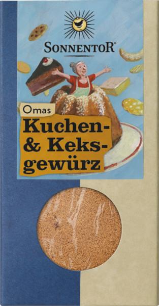 *Bio Omas Kuchen- und Keks Gewürz, Packung (50g) Sonnentor