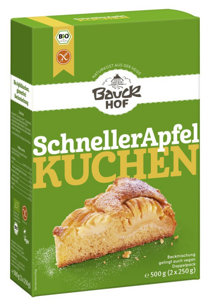 *Bio Schneller Apfelkuchen glutenfrei Bio (500g) Bauckhof