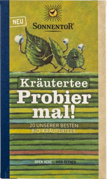*Bio Kräutertee Probier mal!, Doppelkammerbeutel (28,5g) Sonnentor