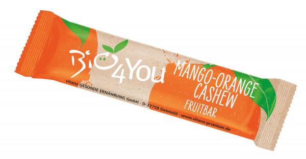 *Bio Bio-Mango-Orange-Cashew Fruchtriegel (30g) Vitana