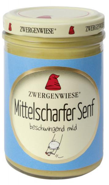 *Bio Mittelscharfer Senf (160ml) Zwergenwiese