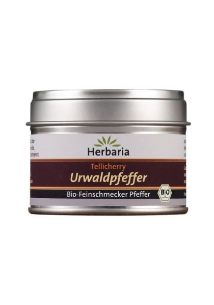 *Bio Tellicherry Urwaldpfeffer bio S-Dose (30g) HERBARIA