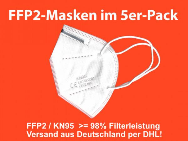 FFP2 / KN95 - Mund und Nasenmaske