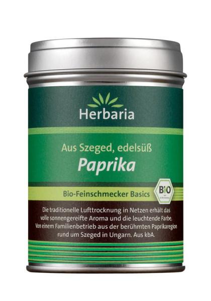 *Bio Paprika edelsüß bio M-Dose (80g) HERBARIA