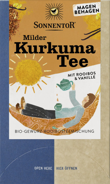 *Bio Milder Kurkuma Tee, Doppelkammerbeutel (27g) Sonnentor
