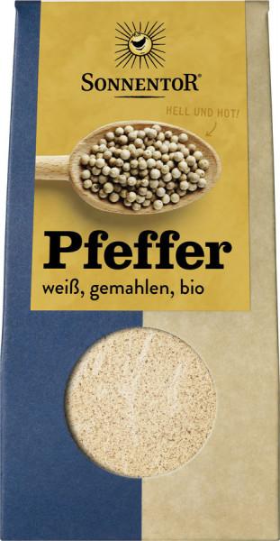 *Bio Pfeffer weiß gemahlen, Packung (35g) Sonnentor