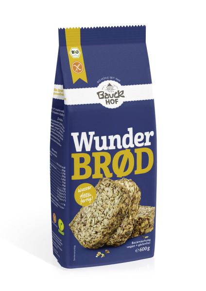 *Bio Wunderbrød glutenfrei Bio (600g) Bauckhof