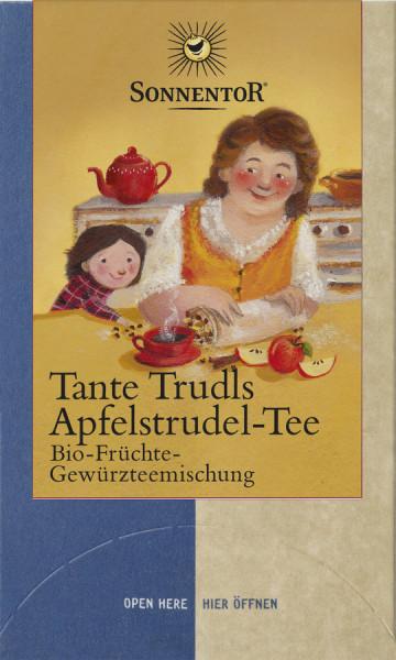 *Bio Tante Trudls Apfelstrudel Tee, Doppelkammerbeutel (45g) Sonnentor