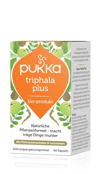 *Bio Triphala Plus 60 Vegetarische Kapseln Bio (60x0,65g) Pukka