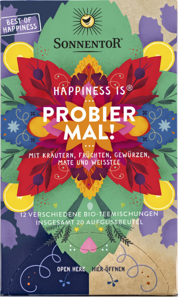 *Bio Happiness is® Probier mal!, Beutel (32,1g) Sonnentor