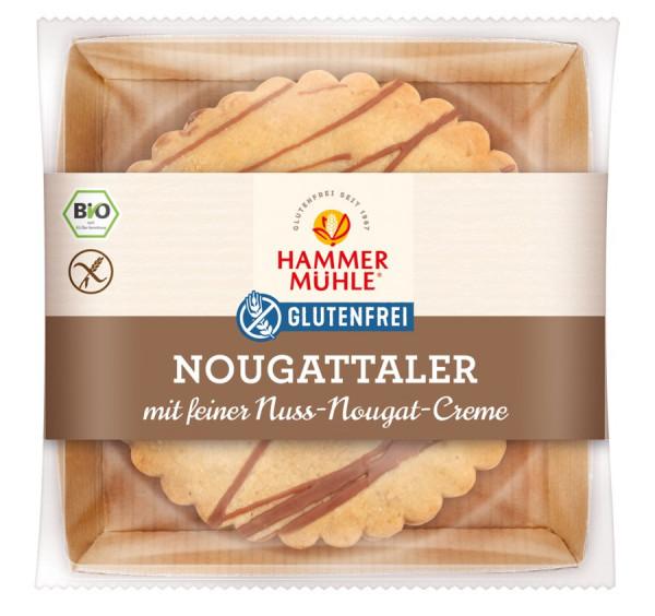 *Bio Bio Nougattaler mit Vollmilchschokolade gf (140g) Hammermühle