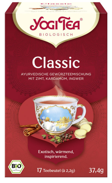 *Bio Yogi Tea® Classic Bio (17x2,2g) Yogi Tea®, Yogi Tea GmbH