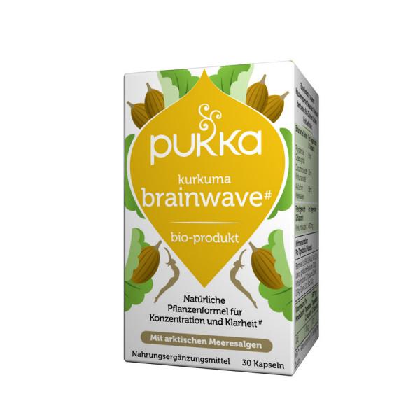 *Bio Kurkuma Brainwave 30 Vegetarische Kapseln Bio (30x0,58g) Pukka