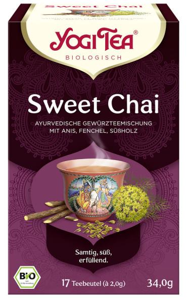 *Bio Yogi Tea® Sweet Chai Bio (17x2,0g) Yogi Tea® , Yogi Tea GmbH