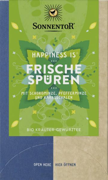 *Bio Frische spüren Tee Happiness is®, Doppelkammerbeutel (30,6g) Sonnentor